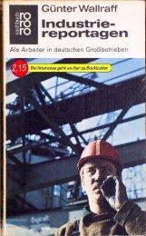 Als Arbeiter in deutschen Großbetrieben
