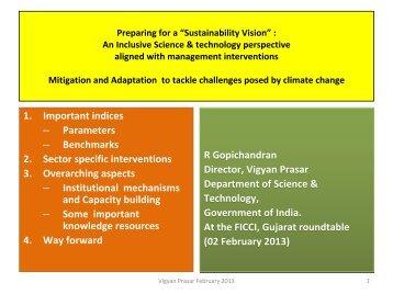 Please click here for complete presentation - Vigyan Prasar