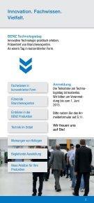 BENZ Technologietag - BENZ GmbH Werkzeugsysteme - Seite 2