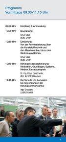 BENZ Technologietag - BENZ GmbH Werkzeugsysteme - Seite 4