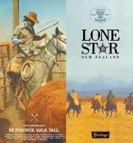 Full Menu - Lone Star