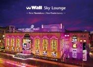 Wall Sky Lounge Broschüre - Friedrichstadt-Palast