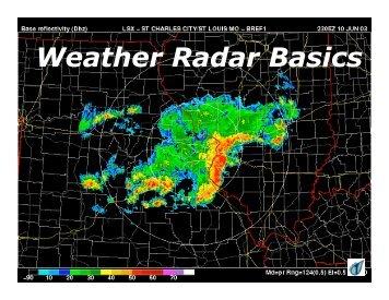 Overview of Weather Radar Basics - CoCoRaHS