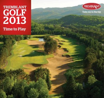 2013 Tremblant Golf