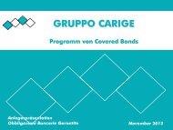 Kreditqualität /2 - Gruppo Banca Carige