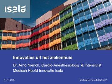 Innovaties uit het ziekenhuis (pdf) - Health Valley