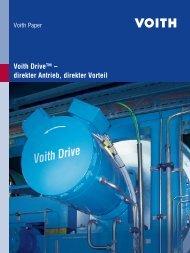 Voith Drive™ – direkter Antrieb, direkter Vorteil - Voith Paper