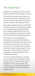 Click to Download Arranging a Funeral Brochure - Palmdale Group - Page 5