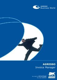 AGRESSO Invoice Manager - XIT