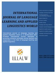 (3) JULY 2013 - The International Journal of Language Learning ...