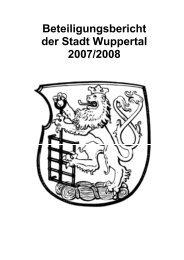 Bergisches Gemeinschafts- Wasserwerk GmbH - Stadt Wuppertal