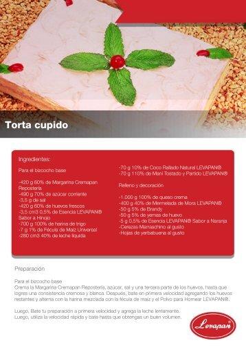 Receta torta cupido - Levapan