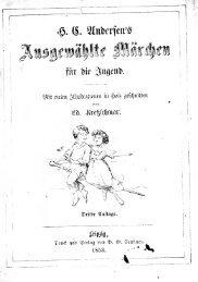 H. C. Andersen's ausgewlte Mchen f die Jugend