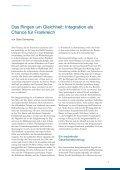 Das Ringen um Gleichheit - Dialogue d'avenir franco-allemand - Seite 7