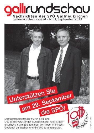 Galli Rundschau - SPÖ Gallneukirchen