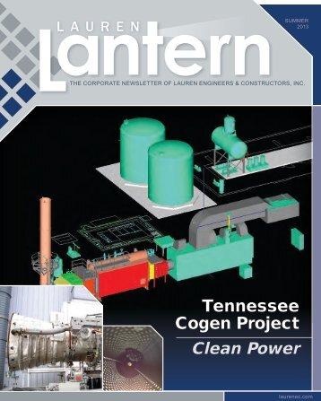 Tennessee Cogen Project - Lauren Engineers & Constructors