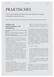 Judikatur zur Sachverständigen- und Amtshaftung - ra-w.at