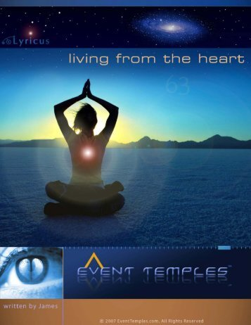 Living from the Heart _James v.2_.doc - Leben vom ... - Event Temples