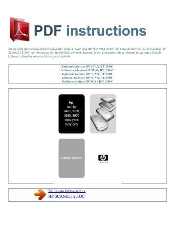 hp scanjet g3010 manual pdf