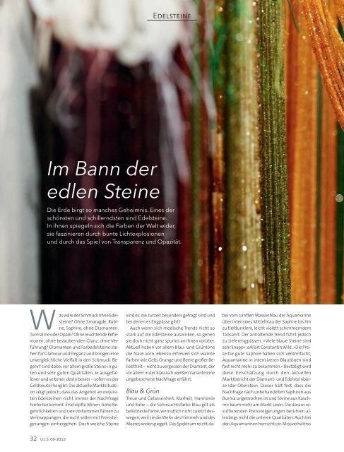 09/2013 - Brillante Farben der Natur