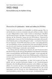 Österreich-Box 5: 1955-1968 - Konsolidierung im Kalten Krieg