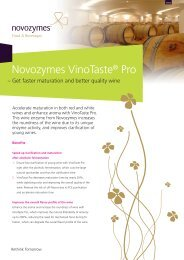 Novozymes VinoTaste® Pro