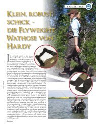 Klein, robust, schick - die Flyweight- Wathose von ... - Hardy and Greys