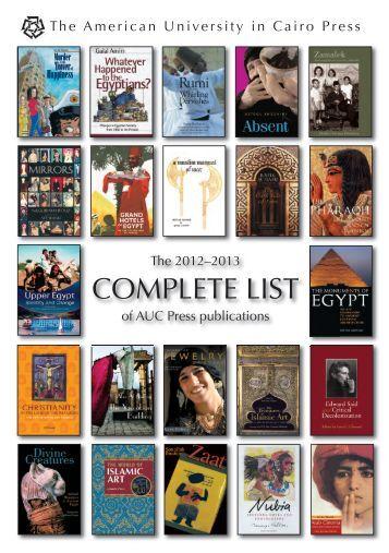 PDF version - The American University in Cairo Press