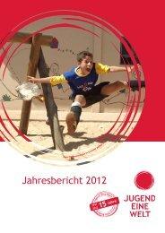 Jahresbericht 2012 - Jugend Eine Welt