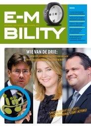 WIE VAN DE DRIE: - E-Mobility Magazine