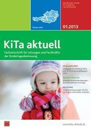 Fachzeitschrift für Leitungen und Fachkräfte der ... - bei KiTa aktuell!