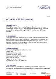YC KK-PLAST Füllspachtel - Waage