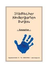 Konzept Kindergarten - Stadt Burgau