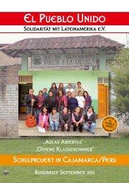 Rundbrief vom Herbst 2011 - El Pueblo Unido