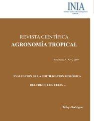 Evaluación de la fertilización biológica del frijol con cepas nativas ...