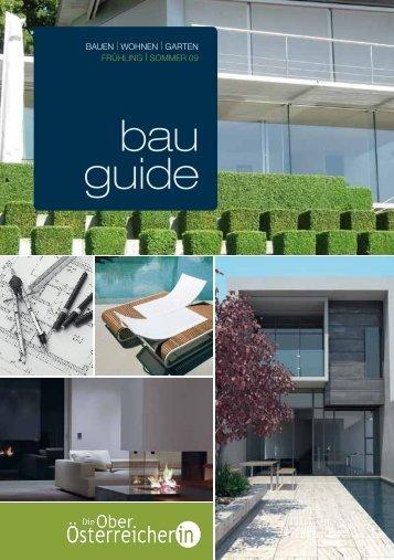 bau guide - Die Oberösterreicherin