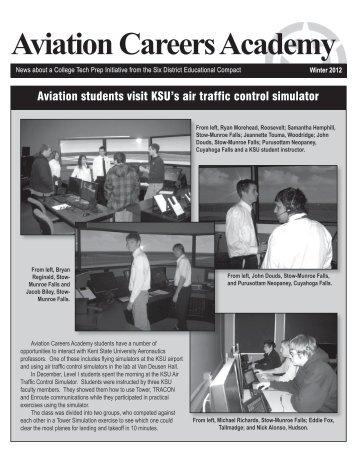 Aviation students visit KSU's air traffic control simulator - Six District ...
