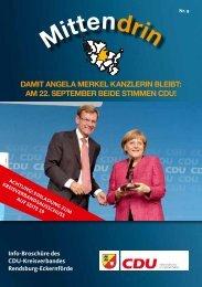 Mitgliedermagazin September 2013 - CDU KV Rendsburg ...