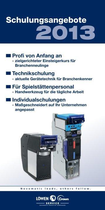 (2013-02-01) Broschüre (4.2 MB) - LÖWEN-CROWN-SERVICE