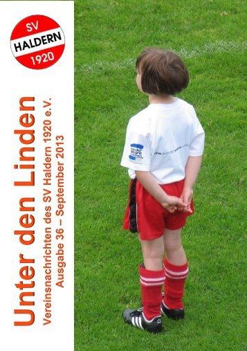 Vereinsnachrichten 2013 - SV Haldern