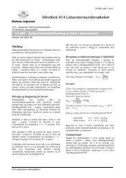 14.483 Kalkstabilisering av leire i laboratoriet - Statens vegvesen