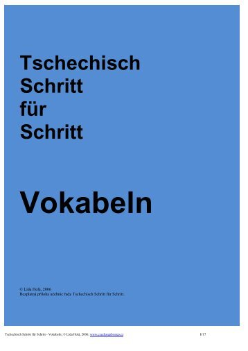 Format PDF hier - Czech Step by Step