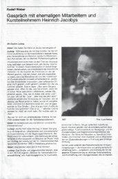 Rudolf Weber - Heinrich Jacoby - Elsa Gindler - Stiftung