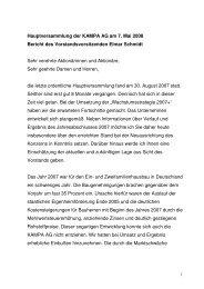 Rede von Herrn Schmidt anlässlich der ... - KAMPA AG