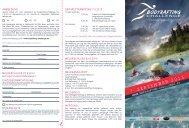 Flyer Bodyrafting-Challenge - Internationale Deutsche ...