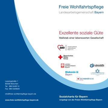 Zur Sozialcharta - Freie Wohlfahrtspflege Bayern