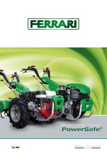 TWO-WHEEL TRACTORS - EINACHSER - Ferrariagri.com