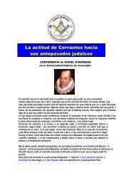 La actitud de Cervantes hacia sus antepasados ... - The Goat Blog