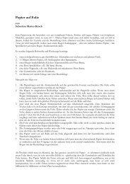 Papier auf Folie - von Sebastian Kirsch (pdf-file)