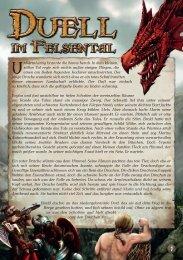 Spielregeln - Duell im Felsental - Pegasus Spiele